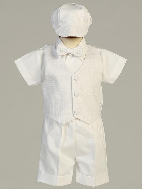 Baptism Boys Suit, Sweet Pea and Lilli, Dexter
