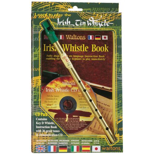 Waltons Irish Tin Whistle CD Pack