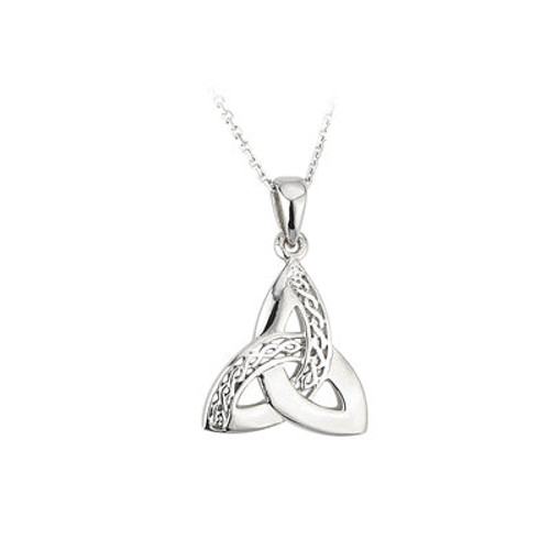 Trinity  Celtic Knot Sterling Silver Pendant