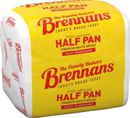 Brennans White Half Pan 400g (14.1oz)