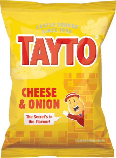 Tayto NI Cheese & Onion 37.5g