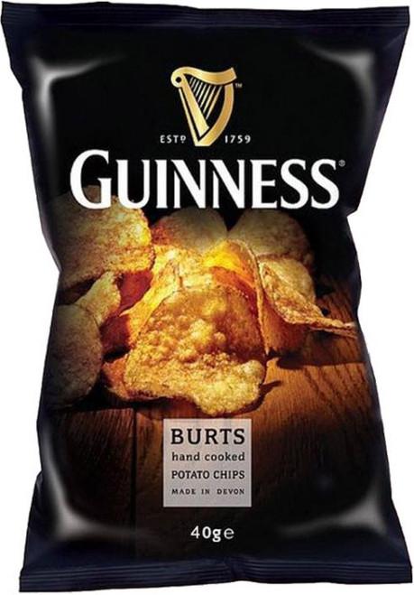 Burts Guinness Crisps 42g