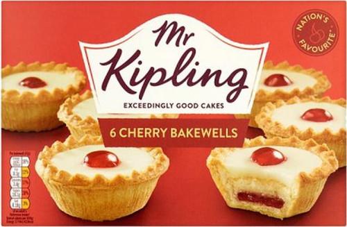 Mr Kipling Cherry Bakewells 6s 318g (11.2oz)