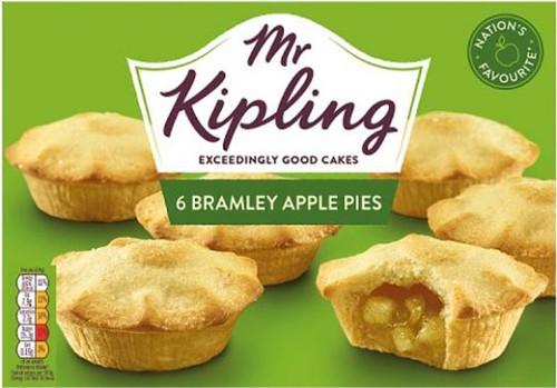 Mr Kipling Apple Pies 6s 399g (14.1oz)