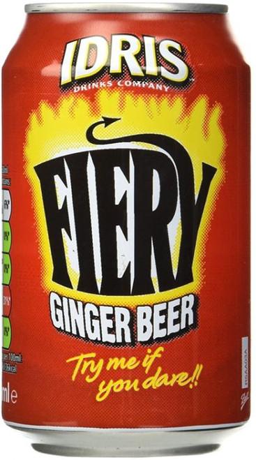 Idris Ginger Beer Can 330ml (11.2fl oz)