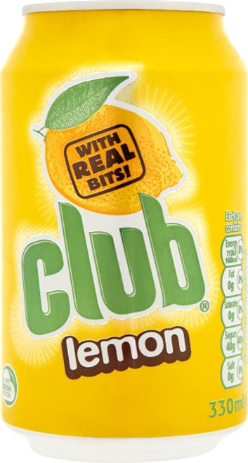 Club Lemon 330ml (11.2fl oz)