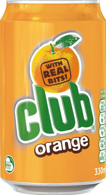 Club Orange 330ml (11.2fl oz)