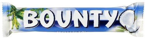 Bounty Milk Chocolate Blue 57g (2oz)