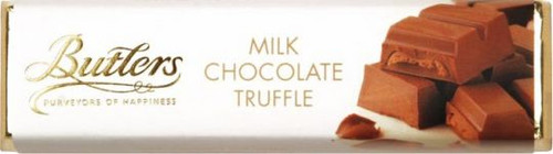 Butlers Milk Chocolate Truffle Bar 75g (2.6oz)