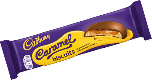 Cadburys Caramel Biscuit 130g (4.6oz)