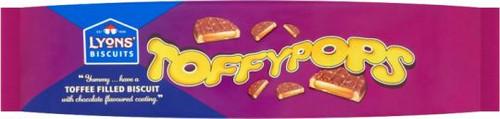 Lyons Toffy Pops 120g (4.2oz)