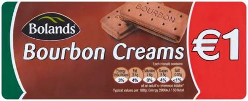 Bolands Burbon Creams PM 150g (5.3oz)