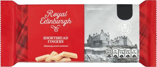 Royal Edinburgh Shortbread Fingers 150g (5.3oz)