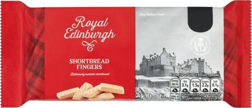 Royal Edinburgh Shortbread Fingers 150g (5.3oz)