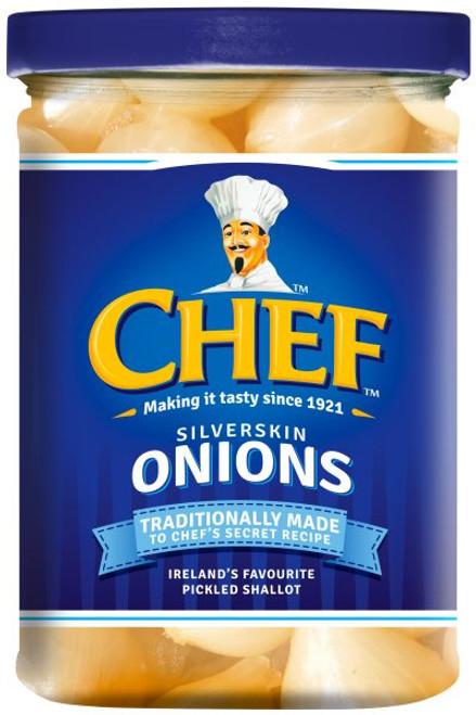 Chef Silverskin Onions 360g (12.7oz)