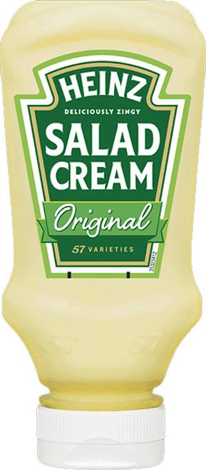 Heinz Salad Cream Top Down 425g (15oz)