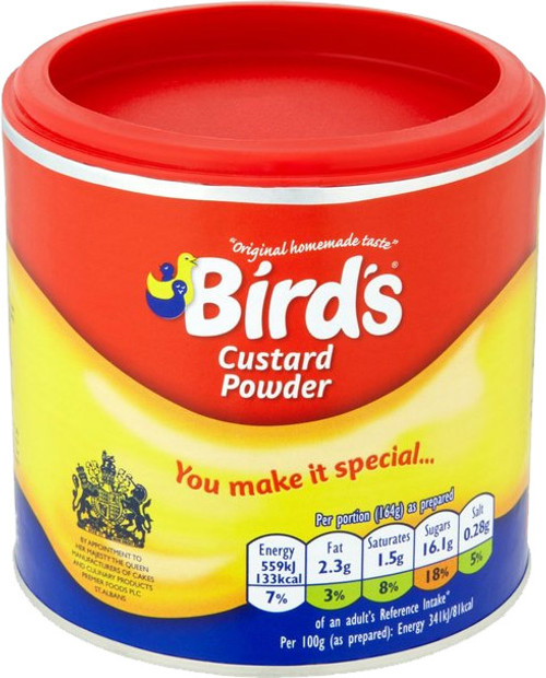 Birds Custard Drum 300g (10.6oz)
