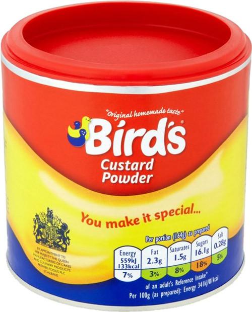 Birds Custard Drum 300g (10.6oz)