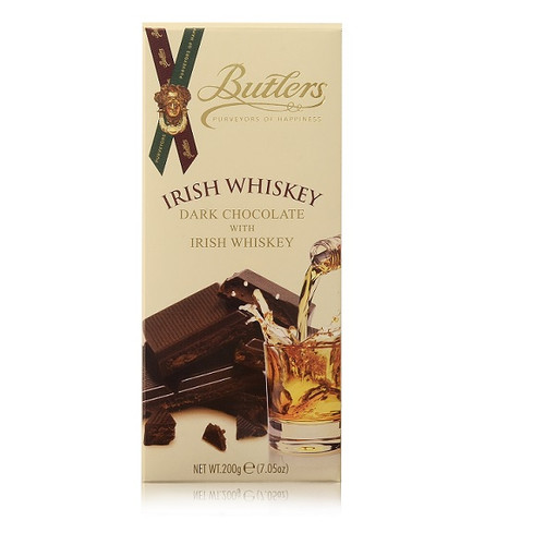 Butlers Dark Chocolate with Irish Whiskey Tablet Bar