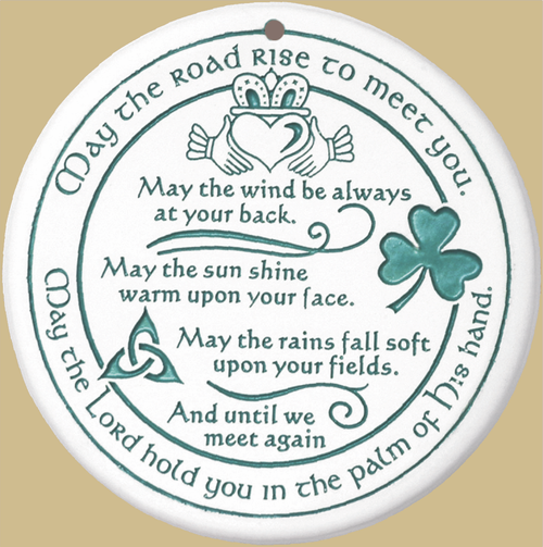 Bread Warmer-Trivit-Irish Blessing