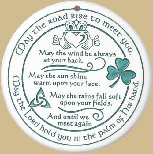 Bread Warmer-Trivit-Irish Blessing