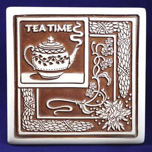 Bread Warmer-Trivet- Tea Time