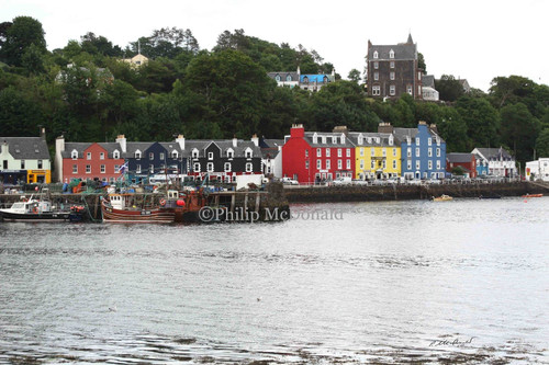 Tobermory, Scotland  Photo