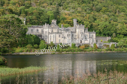 Kylemore Abbey, Ireland Photo