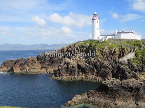 Fanad Head Lighthouse, Co Donegal Ireland Phot
