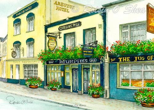 Rosin O'Shea Murphy's Pub Print
