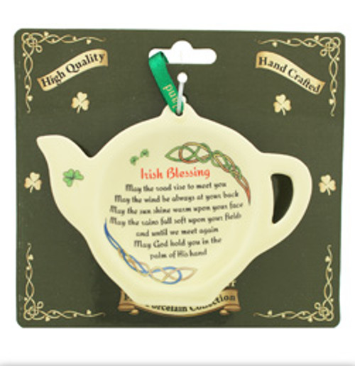 Tea Bag Holder - Irish Blessing