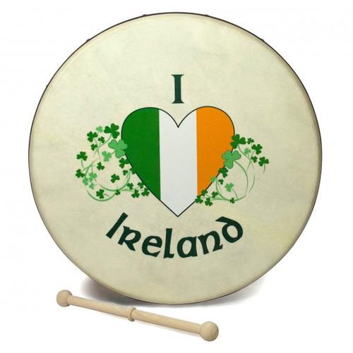 Bodran - 8 inch  I love Ireland