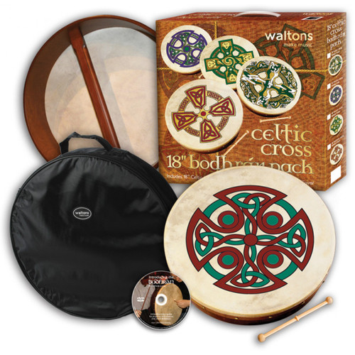 "15"" Brosna Cross Bodhran Pack"