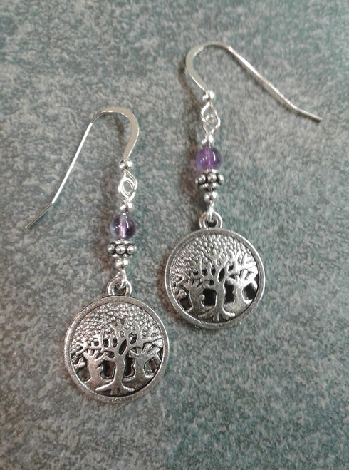 Cruthu Celtic Fairy Woods Earrings
