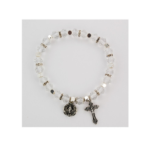 Rosary Bracelet, Crystal