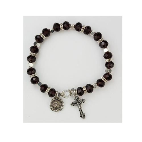 Rosary Bracelet Garnetj Beads