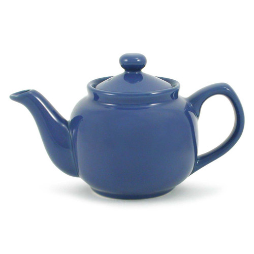 Ceramic Blue Teapot
