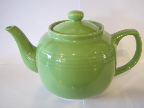 Ceramic Lime Teapot