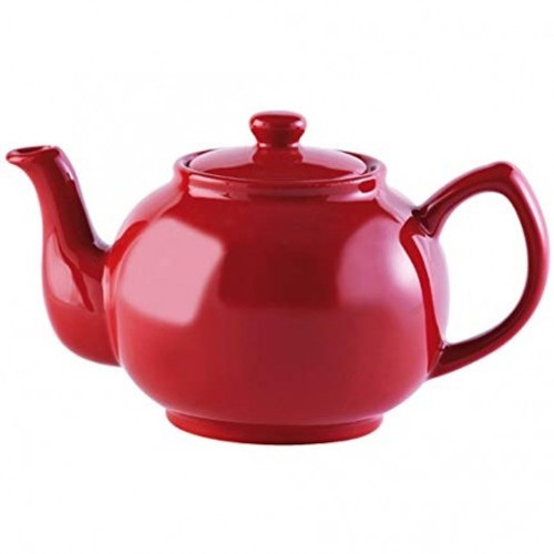 Ceramic Red Teapot