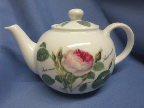 Roy Kirkham Redoute Roses Teapot