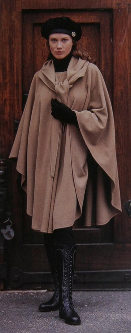 Women's Traditional Cashmere/Wool Irish Cape