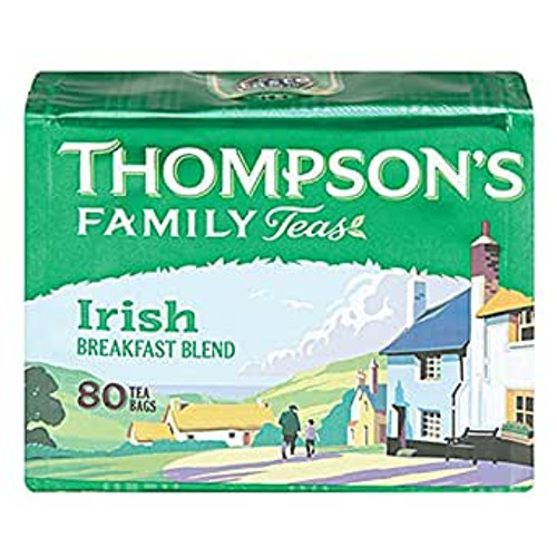Thompson's Irish Breakfast Blend Teabags 80ct