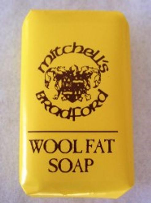 MItchells Wool Fat Soap Bath Size  2.64 ounce