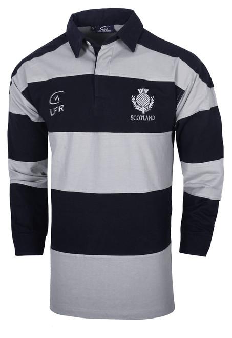 Scotland Longsleeve Striped Rugby