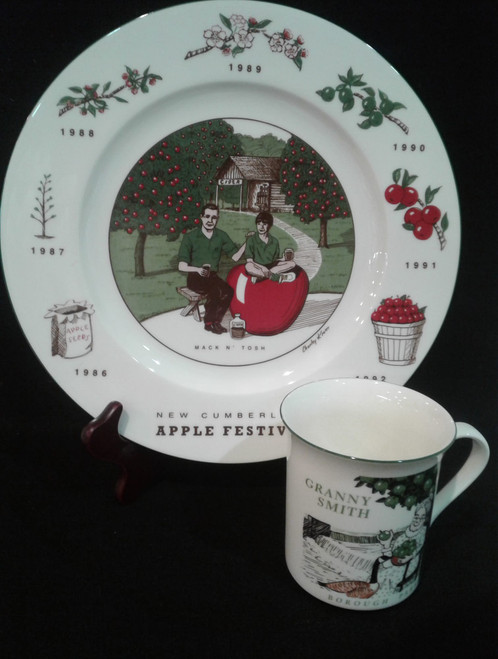 New Cumberland Apple Festival Plate/Cup Set