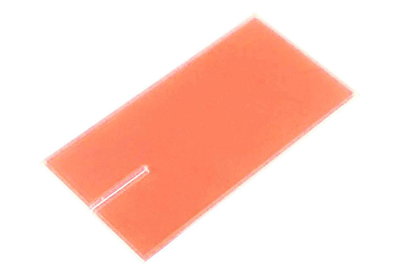 Lucky Bob's Acrylic Block  -  Orange - LB-1006FO