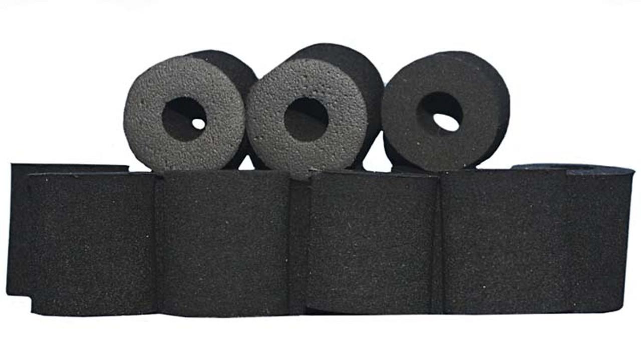 Herminator Natural Rubber Tire Donuts - 6 Pr Pk - HSR-DONUTS