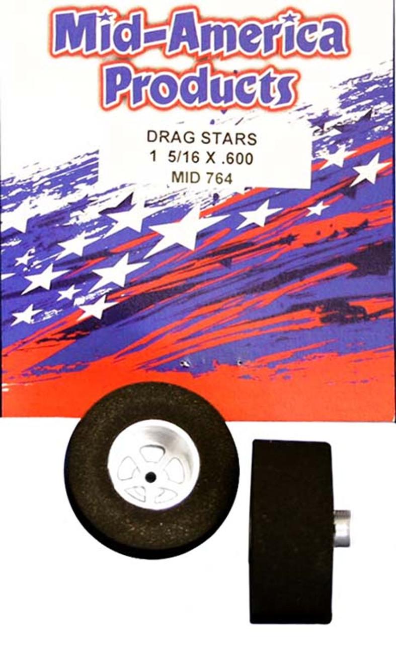 Mid America Star Rears - 1 5/16 x .600 - MAR764