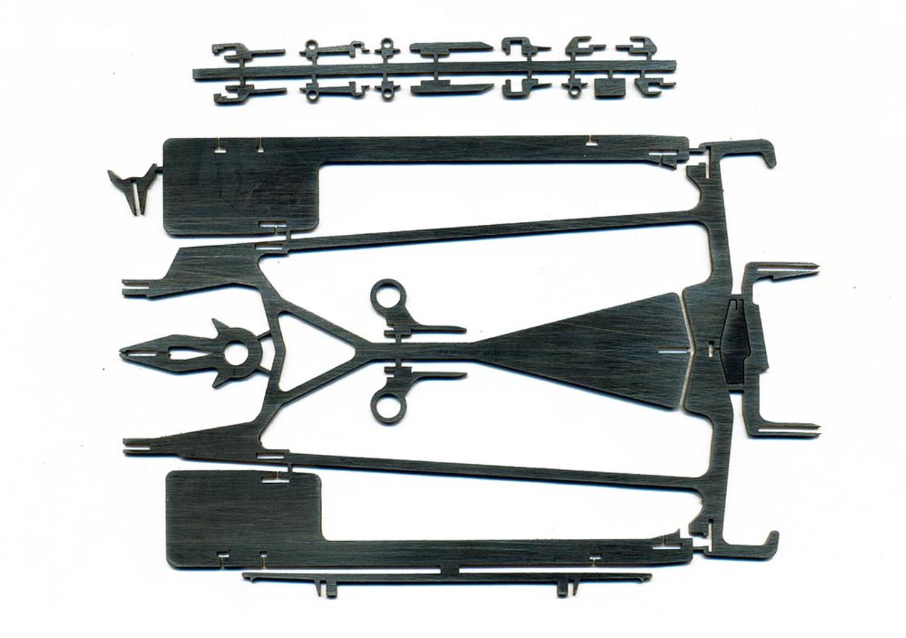 Red Fox NEW GT-12 Chassis Kit - RF-GT12U-B