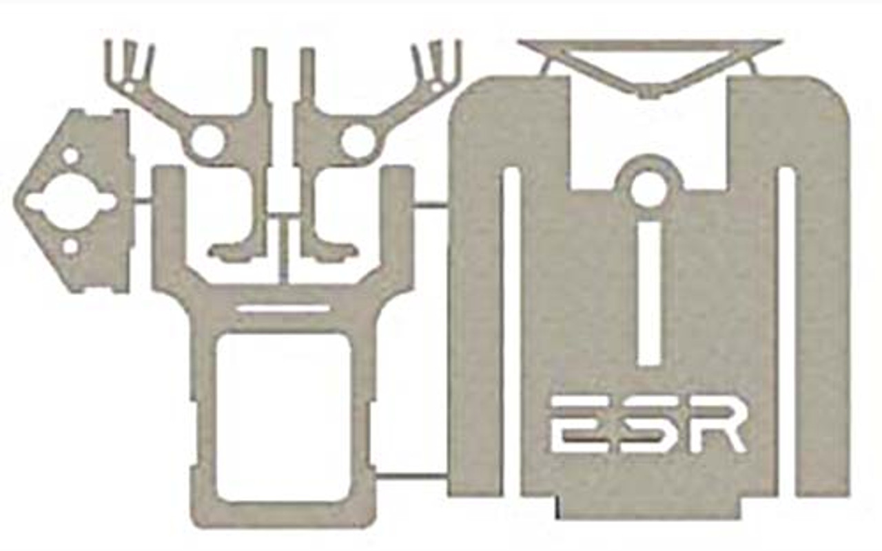 ESR 1 Chassis Kit w/.032 HD Skinny Nose - Stainless Steel - ESR-15-SS